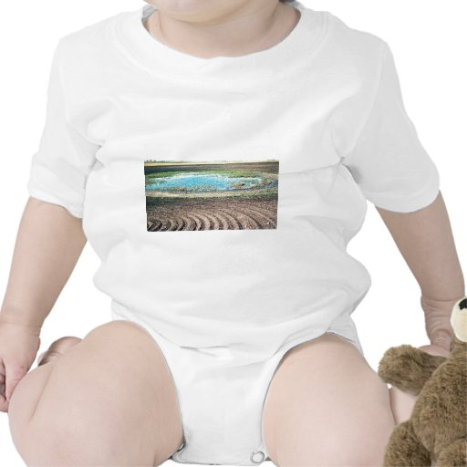 Farming Affecting Wetlands Tee Shirt