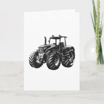 Farming Agriculture Tractor Farmer Gift Card