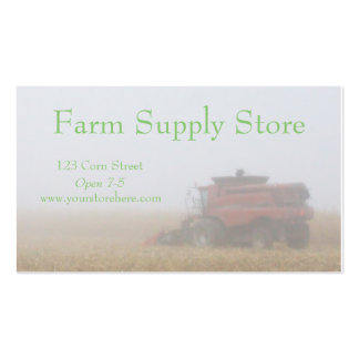 Farming Business Cards