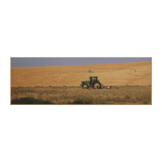 Farming Equipment Near Pasco, Washington ~ Kilmer Canvas Print