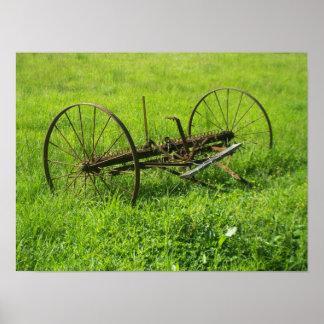 Farming Equipment Print
