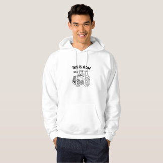 Farming Farmer Tractor This is How I Roll Hoodie
