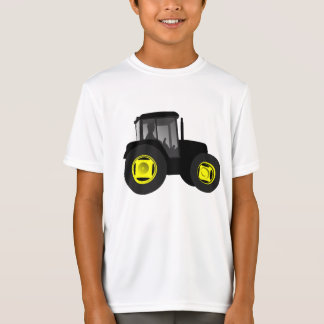 farming field agriculture Grandson son tractor T-Shirt
