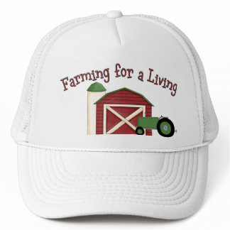 Farming for a Living Barn Tractor Cap