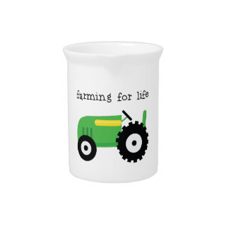Farming For Life Drink Pitchers