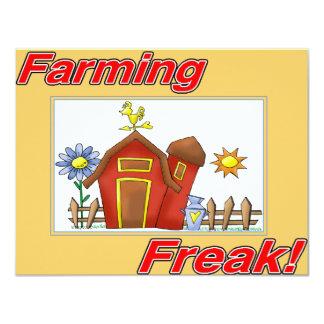 Farming Freak merchandise Card