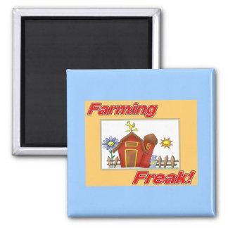 Farming Freak merchandise Magnets