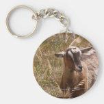 Farming goats key chain