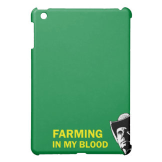 Farming in my blood, gift for a farmer or rancher iPad mini cases