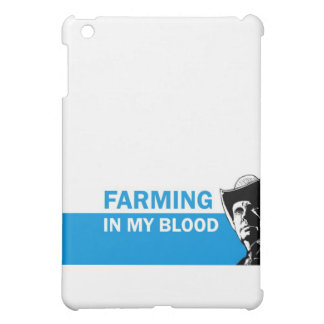 Farming in my blood, gift for a farmer or rancher iPad mini covers