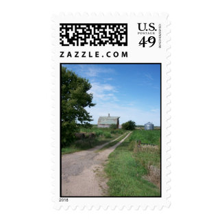 Farming In The Distance Postage Stamps