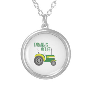 Farming is my life necklaces