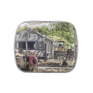 FARMING JELLY BELLY CANDY TIN