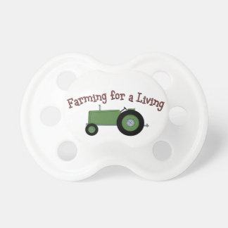 Farming Living Tractor BooginHead Baby Pacifier