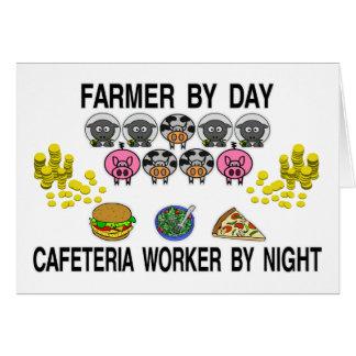 Farming My Cafe Greeting Card