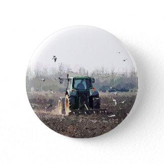 FARMING PINBACK BUTTON