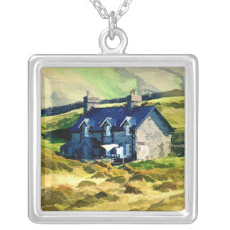 FARMING SILVER PLATED NECKLACE