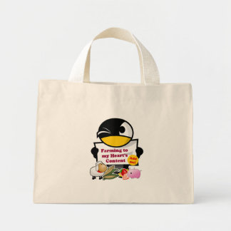 """""""Farming to My Heart's Content"""" Game Tote Bag"""