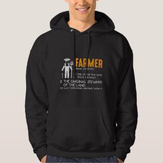 Farming Tractor Farmer Agriculture Appreciation Hoodie