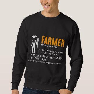 Farming Tractor Farmer Agriculture Appreciation Sweatshirt