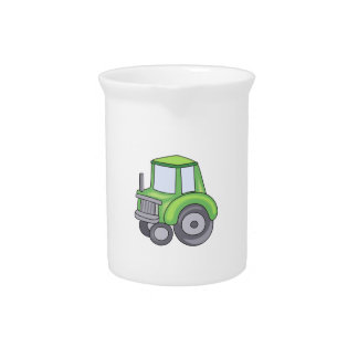 FARMING TRACTOR DRINK PITCHERS