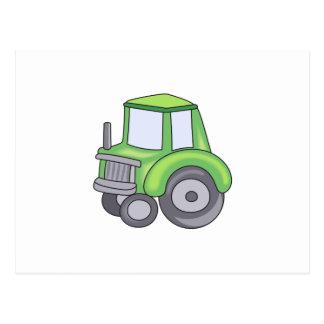 FARMING TRACTOR POSTCARD