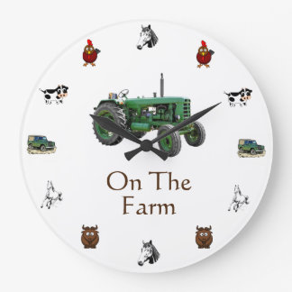Farming Wall Clock