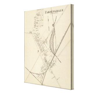 Farmingdale, New Jersey Impresión En Lienzo Estirada