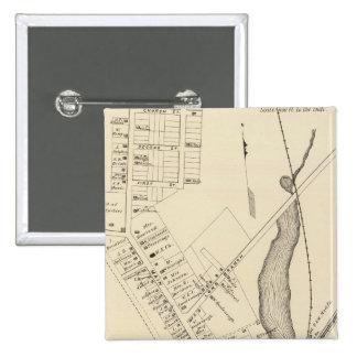 Farmingdale, New Jersey Pin Cuadrada 5 Cm