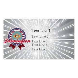 Farmington, DE Double-Sided Standard Business Cards (Pack Of 100)