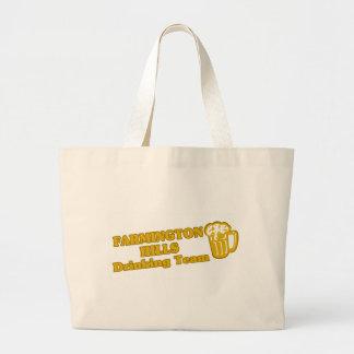 Farmington Drinking Team tee shirts Jumbo Tote Bag