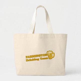 Farmington Hills Drinking Team tee shirts Jumbo Tote Bag