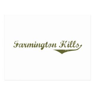Farmington Hills Revolution t shirts Post Card