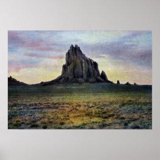 Farmington New Mexico Ship Rock Print
