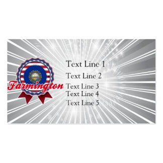 Farmington, NH Double-Sided Standard Business Cards (Pack Of 100)