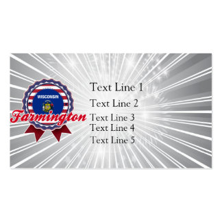 Farmington, WI Double-Sided Standard Business Cards (Pack Of 100)