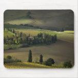 Farmland around Montepulciano, Tuscany, Italy Mouse Pad