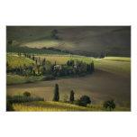 Farmland around Montepulciano, Tuscany, Italy Photo Print