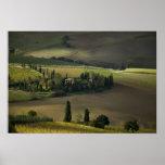 Farmland around Montepulciano, Tuscany, Italy Posters