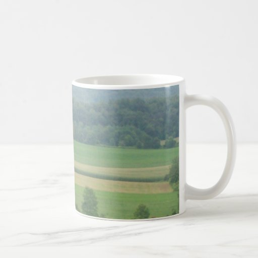 Farmland Classic White Coffee Mug