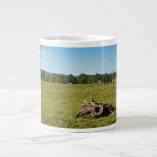 Farmland - Gettysburg National Park - Pennsylvania Large Coffee Mug