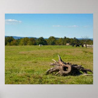 Farmland - Gettysburg National Park - Pennsylvania Poster