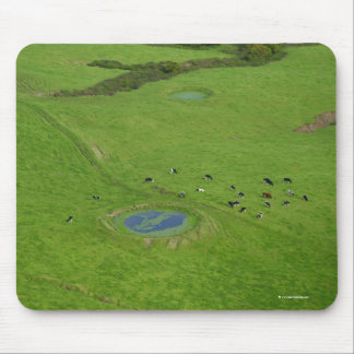 Farmland in Azores islands Mouse Pad
