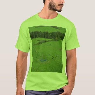 Farmland in Azores islands T-Shirt
