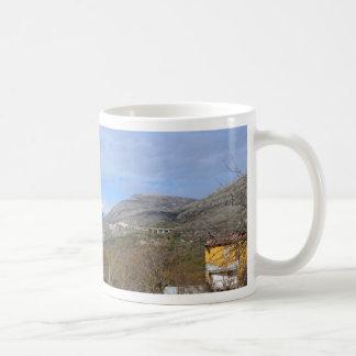 Farmland In Winter In Calabria Coffee Mug