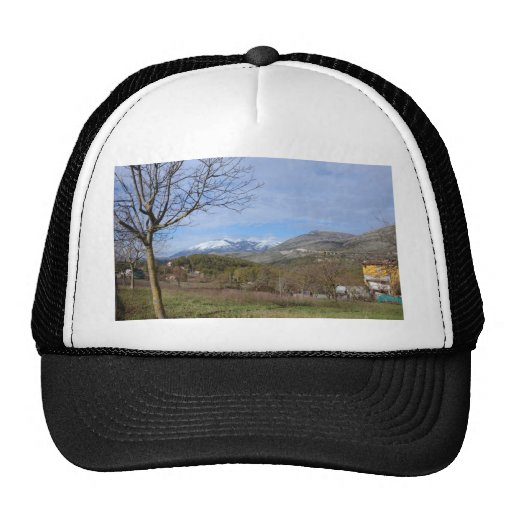 Farmland In Winter In Calabria Hat