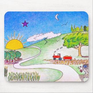 Farmland Mouse Pad