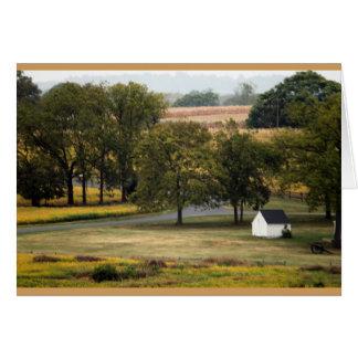 Farmland notecard