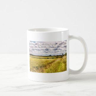 Farmland Rural Landscape HDR Coffee Mug