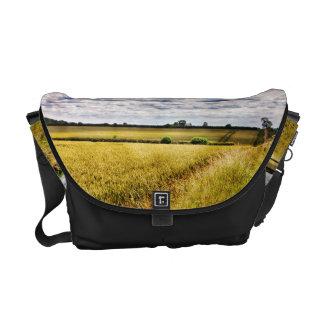 Farmland Rural Landscape HDR Messenger Bag